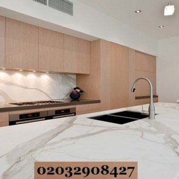 marble kitchen worktop