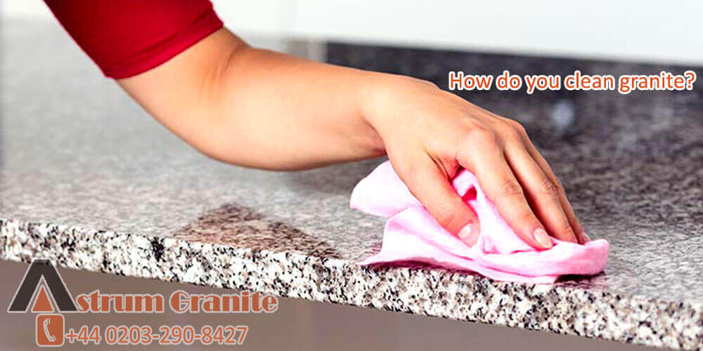 How-do-you-clean-granite
