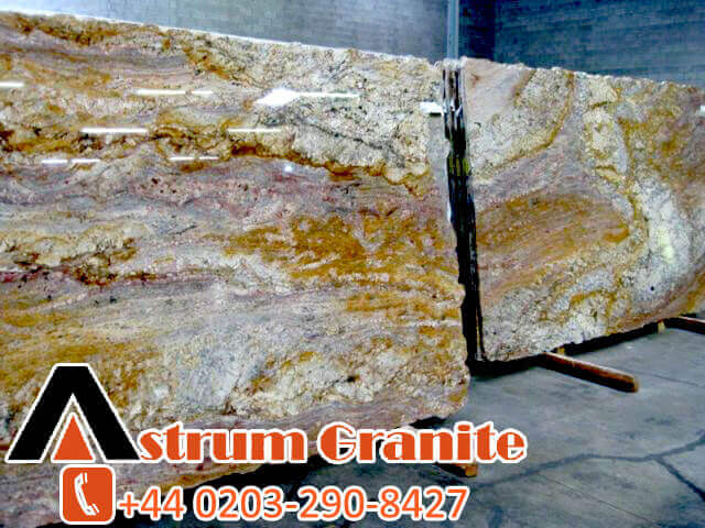 After that cut into large slabs approximately 3 meter by 1.9 meters. And finally it is polished on. You can see the below:
