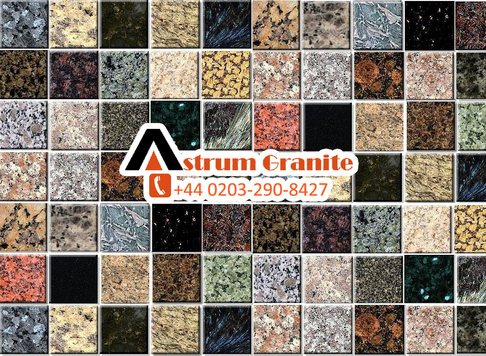 Different and Designing shades of Granite Worktops
