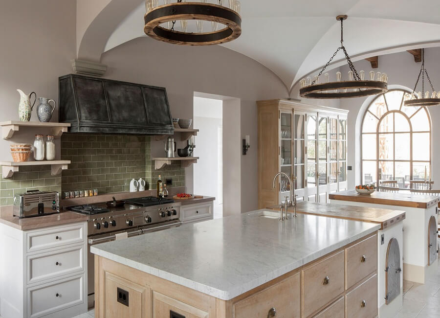 marble kitchen worktops