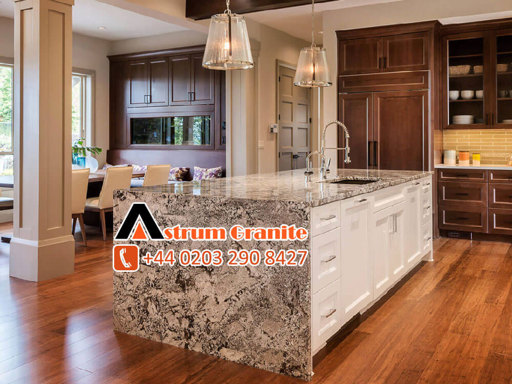 granite kitchen countertops/worktops