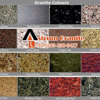 Granite Kitchen Worktop Colors